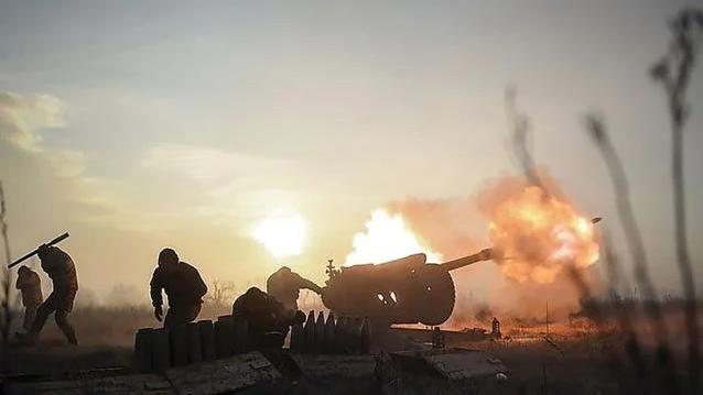 Потужний обстріл біля Новотроїцького: бойовики 40 хвилин гатили по позиціях ЗСУ