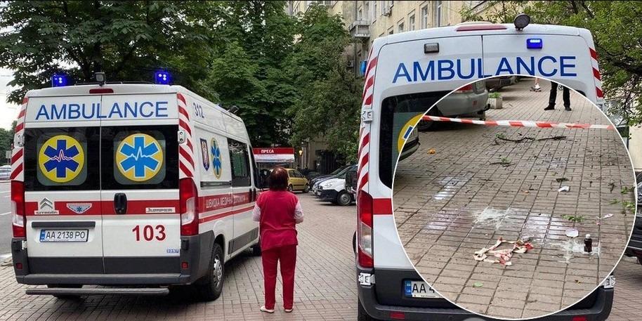 У Києві жінка з 3-річною дитиною випали з вікна: перші подробиці (фото, відео)