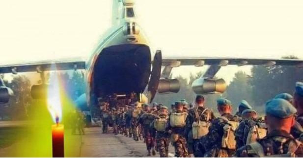 Катастрофа Іл-76 над Луганськом: в Україні вшанували пам'ять 49 янголів крилатої піхоти