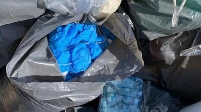 Пробірки від тестів на COVID-19 знайшли на сміттєзвалищі: поліція відкрила справу